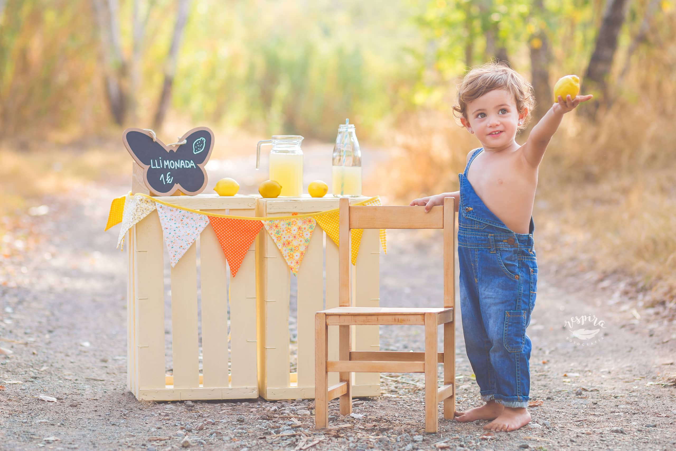Fotografia infantil en olesa de montserrat barcelona