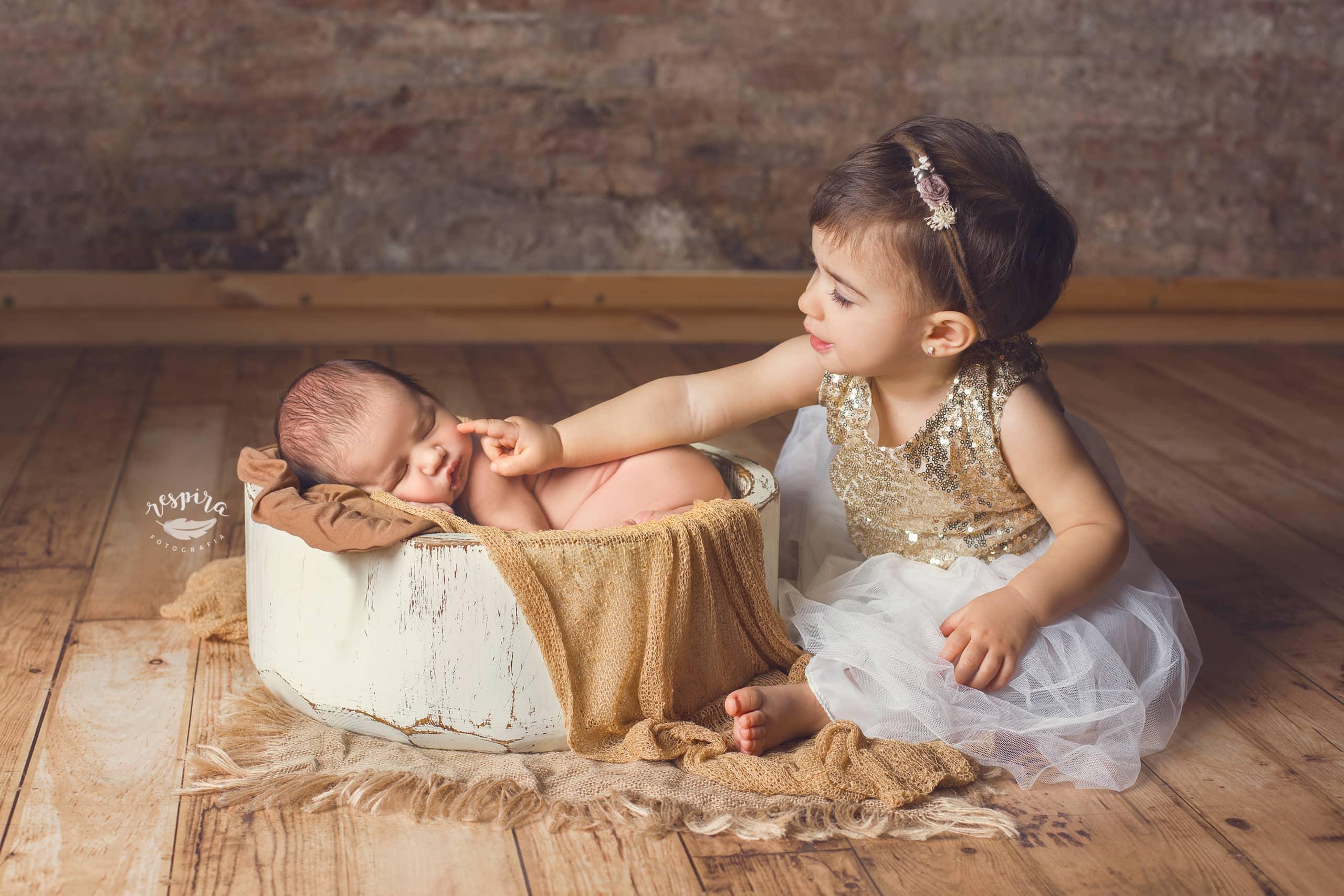 Fotografo de recien nacido newborn en barcelona olesa