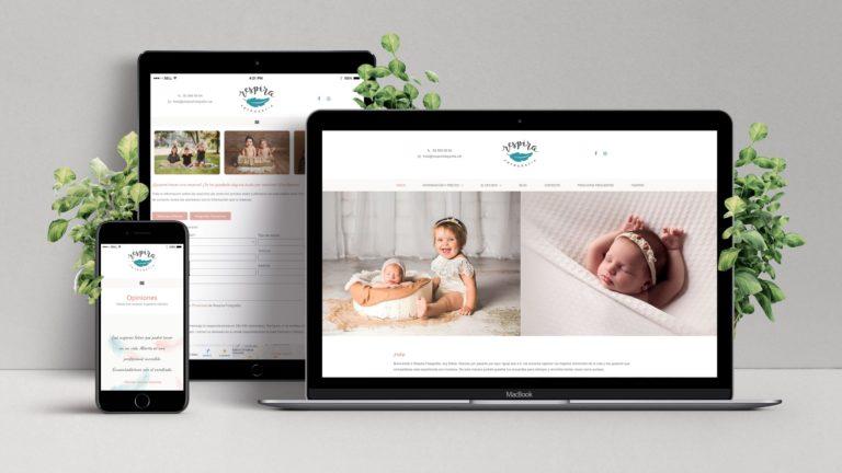 Nova pàgina web Respira Fotografia