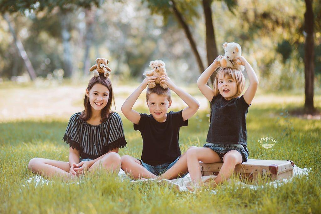 Estudio fotografico barcelona olesa sesiones de familia muestra vestuario