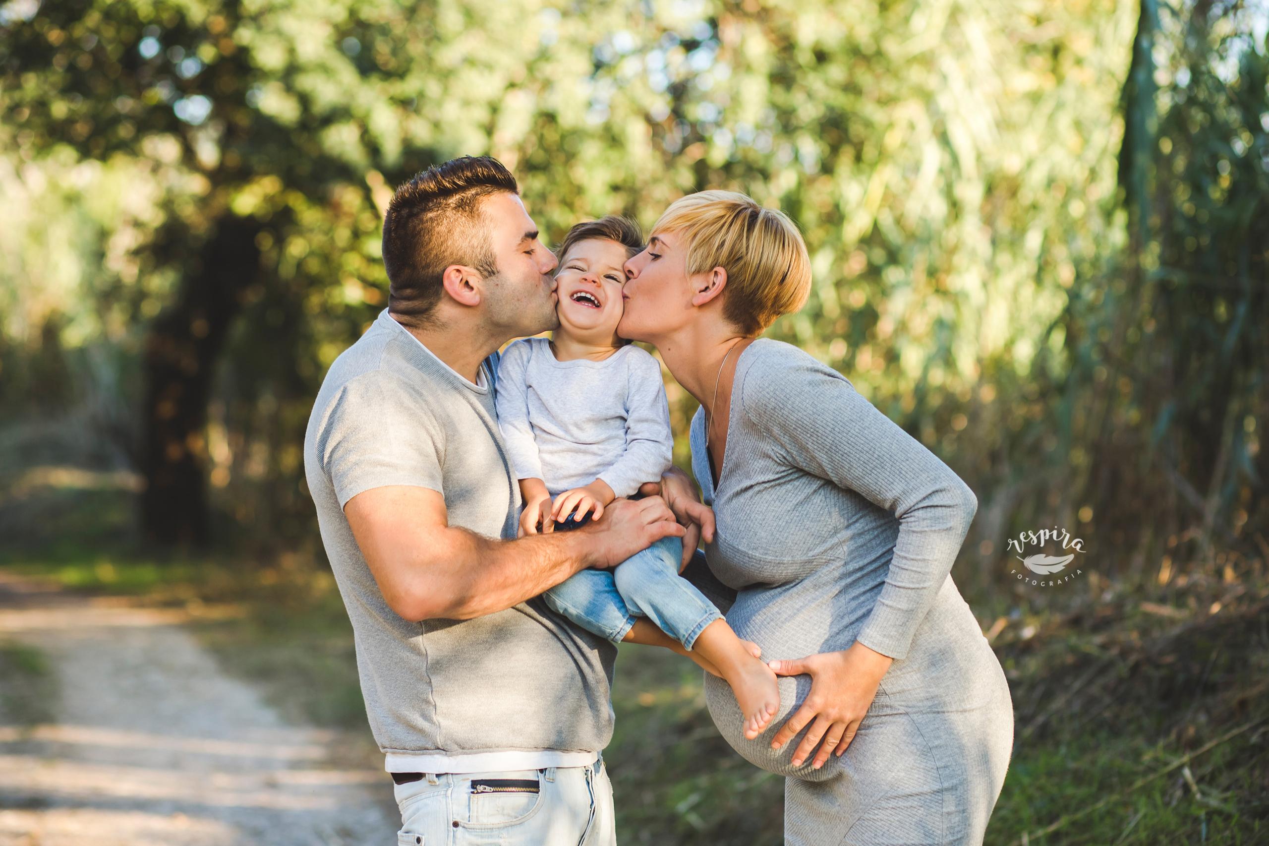 Fotografia de embarazo en olesa de montserrat barcelona