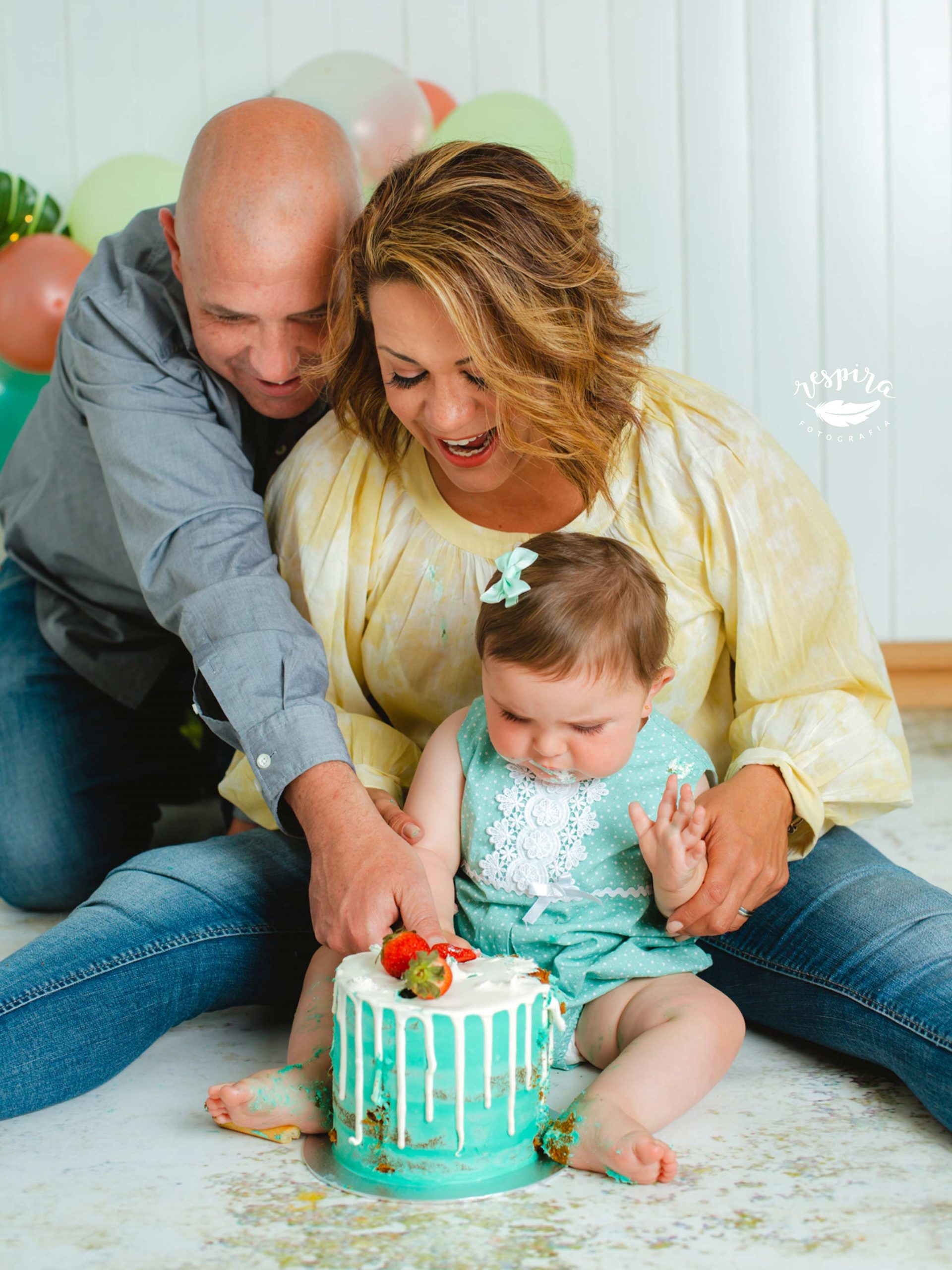 Smash cake olesa abrera martorell