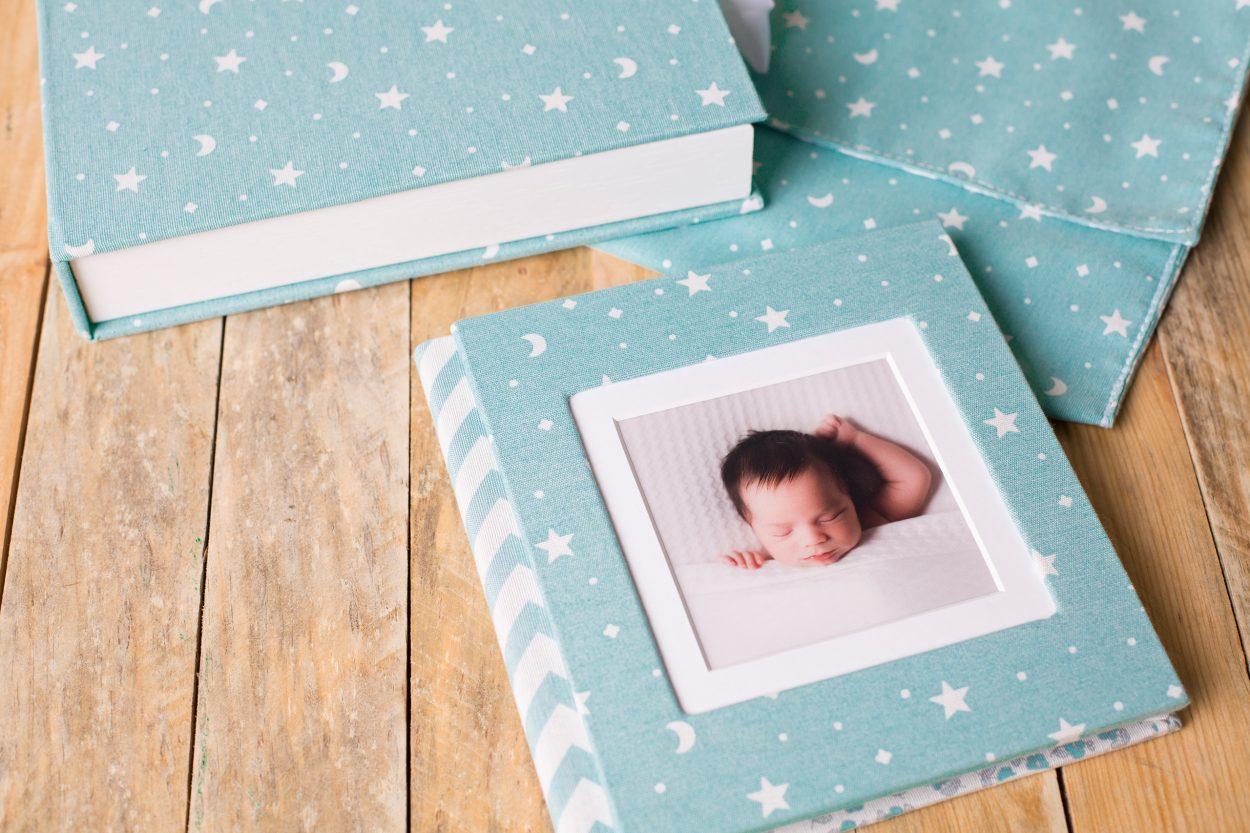 Album tejido productos fotografia